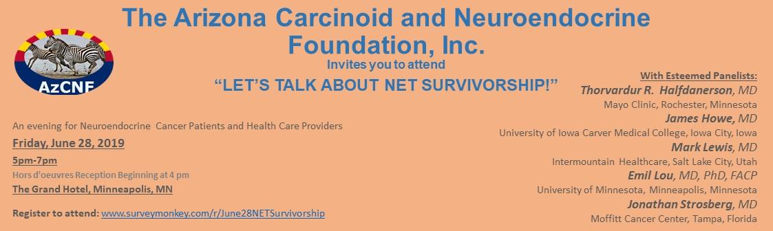 Arizona Carcinoid & Neuroendocrine Foundation, Inc (520) 762